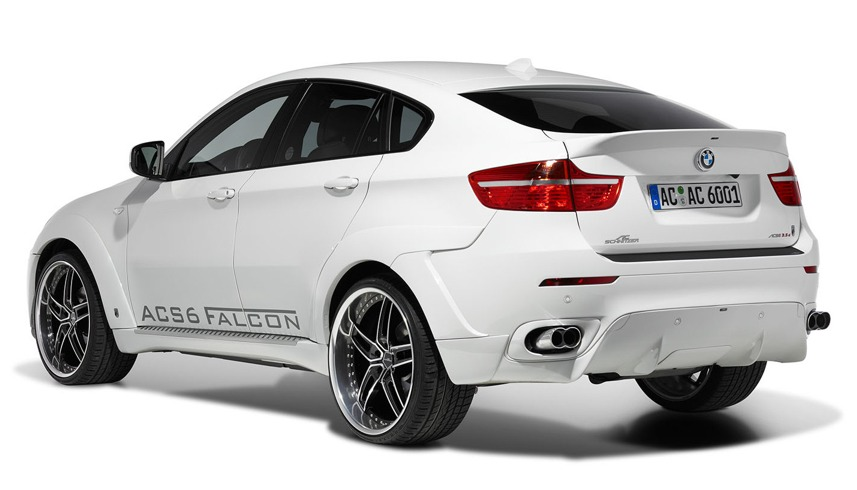 Boot Spoiler For Bmw X6 E71